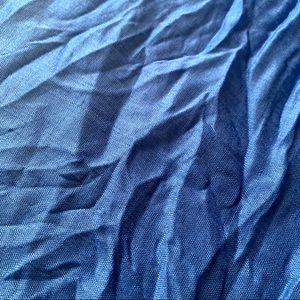 Accessories - Unisex Linen Scarf (Resort Blue)